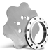 Custom Stainless Steel Rings, Discs, Flanges and plates
